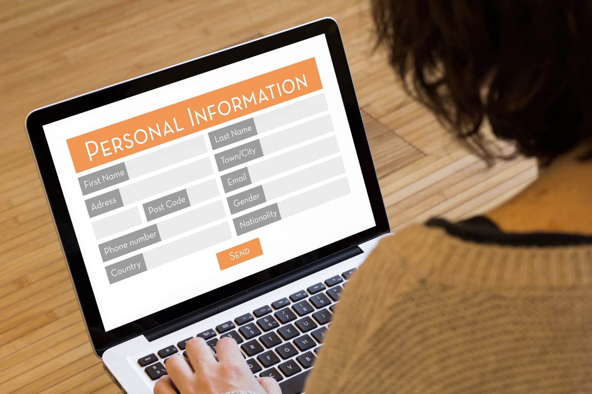 Filling out your profile after registering is crucialFilling out your profile after registering is crucial